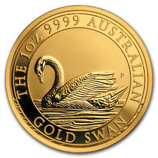 2017 Australia 1 oz Gold Swan BU - SKU #154744