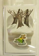WDFM Walt Disney Family Museum Once Upon a Time Skating Couple Card and Pin