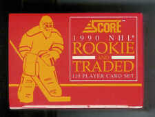 1990-91 SCORE ROOKIE AND TRADED HOCKEY FACTORY SEALED SET 1-110