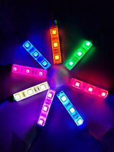 Skate Lights LED Single & Multi-Color. Quad, Inline, Bike, Scooter, Long Board