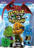EXTREME DINOSAURS - VOL.4,12 FOLGEN PIDAX 2 DVD NEU
