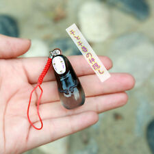 Japanese GHIBLI Spirited Away Kaonashi Faceless MASCOT bell phone strap charm