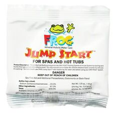 Spa Frog 01-14-6012 Hot Tub Mineral Jump Start Shock Chlorine Packets (Eight)