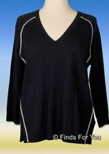 J Crew Women's Merino Wool Tipped Side Panel V Neck Sweater Pullover Xs A0822
