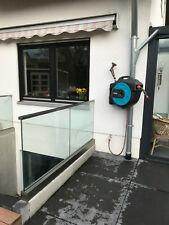 Ganzglasgeländer Balkongeländer ALU Module mit 17,52 mm ESG -VSG Glas