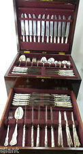 KING by D&H Sterling Silver 173 Piece FLATWARE SERVICE, Dinner + Lunch