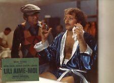 PATRICK DEWAERE JEAN-MICHEL FOLON LILY AIME-MOI  1975 VINTAGE PHOTO ORIGINAL #2