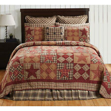 Dawson Star Twin Quilt / Bedspread by VHC Brands - Victorian Heart Bedding