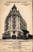 CPA   Wahington Hotel -Meuble - Prés de la Gare - Ouvert toute l'Année  (513596)