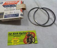 NOS Yamaha SL292 Standard Piston Rings 812-11601-00 OEM