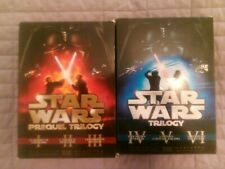 star wars 2x trilogy film box: prequel and main story episodes 1-6 DVD THX