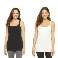 Women's Maternity Nursing Cami Gilligan & O'Malley Cotton Tank Cami-93% Cotton