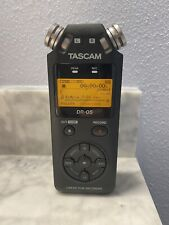 TASCAM DR-05 Portable Digital Audio Recorder - Includes batteries and microSD