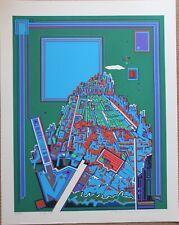 Sérigraphie serigraph de Risaburo KIMURA signée numérotée - City 365 **