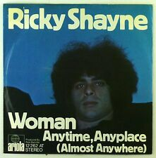 """7"""" Single - Ricky Shayne - Woman - S2170 - washed & cleaned"""