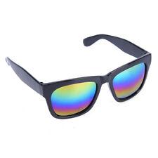 Women Colorful Sunglasses Vintage Retro Reflective Glasses Fashion RW