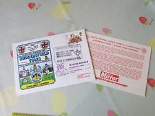 HUDDERSFIELD v CARLISLE 1980 Division 4 Champions FOOTBALL First Day Cover