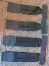NEW US RLCS MSAP FRONT AND REAR MOLLE ARMBAND STRAPS. GREEN. EAGLE INDUSTRIES.