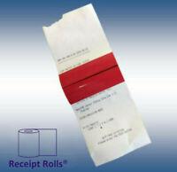 "3 1/8"" x 273' BPA Free X-Long Thermal Receipt Paper Rolls with Splice - 50 Rolls"