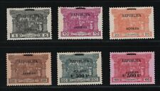 "Portugal - 1911-12 Azores - India ""Republica"" Overprint - Complete Set - Mlh"