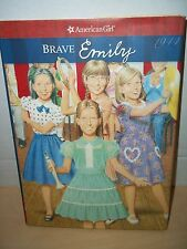 American Girl Brave Emily Hard Cover With Dust Jacket 2006 Pleasant Company