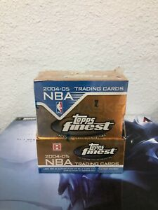 2004-05 TOPPS Finest NBA Basketball Trading Cards BOX NEW/SEALED