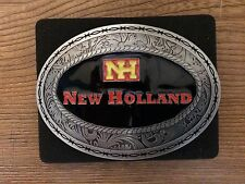 New Holland Retro Design Metal Oval Belt Buckle by SpecCast ZJD1066