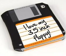 Auction - Floppy Disc Wallet Funky Retro Geeky Nerd Gift Cash Coin