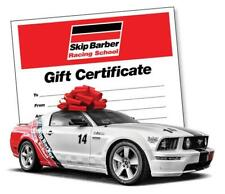 Skip Barber Teen Safety and Survival Gift Certificate