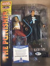 Punisher JON BERNTHAL Signed Marvel Selects 7' Figure With PROOF BECKETT BAS