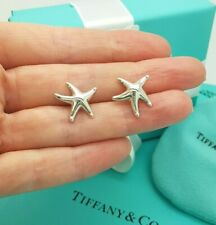 Tiffany & Co. Sterling Silver Elsa Peretti LARGE 16mm Starfish Stud Earrings