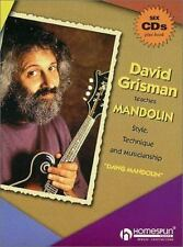 DAVID GRISMAN TEACHES        MANDOLIN STYLE TECHNIQUE AND MUSICIANSHIP 6 CD PKG