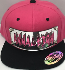 Custom Snap Back Hat Grafitti Letters Any Name or Word Quality Personalized Hat