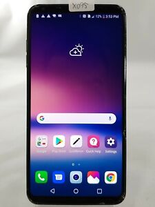 "LG V30+ LS998 - 128GB - Sprint Wi-Fi ONLY 6"" Android Smart Cell Phone Black X095"