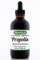 4 oz Propolis Extract Tincture Alcohol-Free Gluten Free High Quality Top Potency