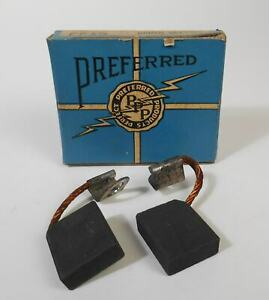 Vintage Generator Brush Set FP13 For 1938-39 Ford Lincoln-Zephyr Mercury