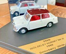 VITESSE 1:43 SCALE - O56B, WOLSELEY HORNET Mk III, 1966, SNOWBERRY WHITE