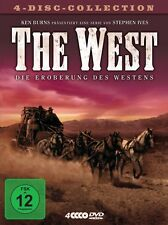 KEN BURNS - THE WEST  - Region2/UK - 4 DVDs BOX