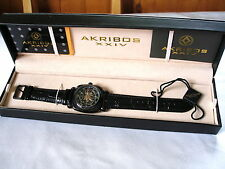AKRIBOS XXIV  Automatic Mens Wristwatch