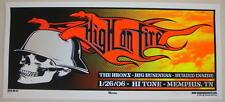 2006 High on Fire - Memphis Silkscreen Concert Poster S/N by Mike Martin