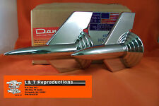 1957 Chevy Chrome Hood Rocket Belair Sedan Nomad Wagon Hardtop Made In USA