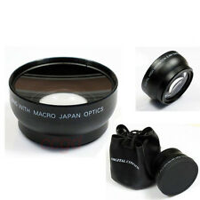 0.45X Professional Wide Angle Lens For Nikon Canon DSLR Camera 55mm Thread New