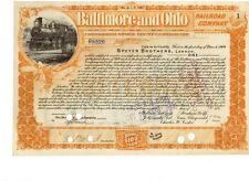 Baltimore and Ohio Railroad 1899