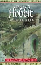 THE HOBBIT ART PORTFOLIO ~ POSTER COLLECTION by ALAN LEE ~ TOLKIEN 6 Prints