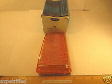 """FORD 1980/81 MERCURY COUGAR XR7 """"LAMP ASSY"""" R H FRONT MARKER AMBER W/BRIGHT BEAD"""