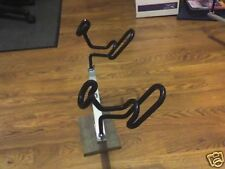 """12"""" TBar W/ stainless steel post and 2 coated dual holders  Reel Fisherman"""