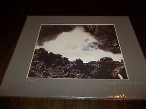 "Matted Original Photo - Janet Cardle: 14"" x 11"" MAUI  140404022"