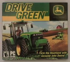 John Deere Drive Green PC CD ROM Game