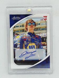 (1/1) Jesse Love 2021 Panini Chronicles Absolute NASCAR Auto Racing BLACK AUTO