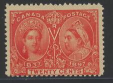 Canada 59 - mh 20 cents Victoria Diamond Jubilee